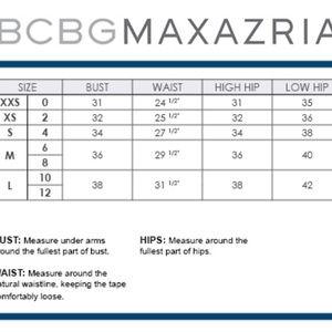 BCBG GENERATION Cross BackPleated WhitePink 6 #387 Dresses - BCBG GENERATION Cross BackPleated WhitePink 6 #387